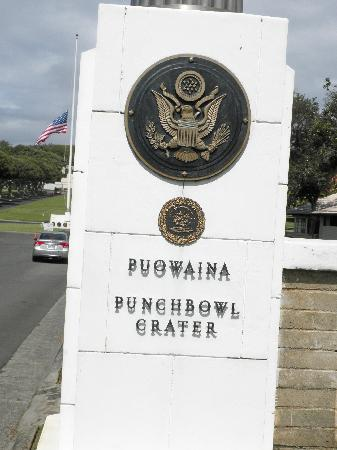 National Memorial Cemetery of the Pacific: The Entrance