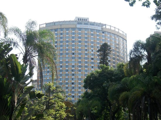 Belo Horizonte Othon Palace Hotel: Vista do Parque Municipal
