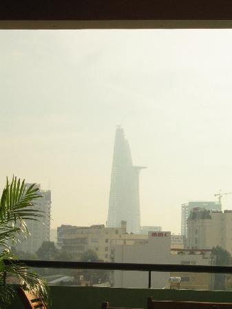 Green Suites Hotel: Sicht von der Dachterrasse