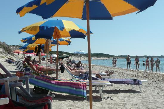 Hotel Stella Del Sud: Private beach