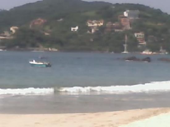 Catalina Beach Resort: playa del hotel