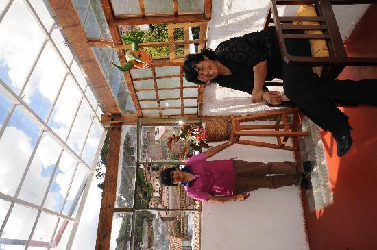 Casa de Mama Cusco-The Treehouse: Carmen and Mercedes...the ladies in charge (: