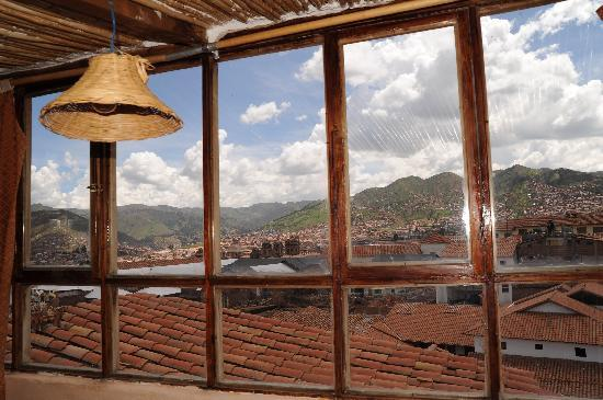 Casa de Mama Cusco-The Treehouse: View from top apartment