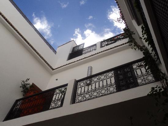 Les jardins de Riad Laarouss: Courtyard