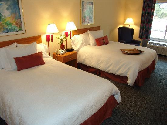 Hampton Inn Brooksville / Dade City: Comfortable double beds await you