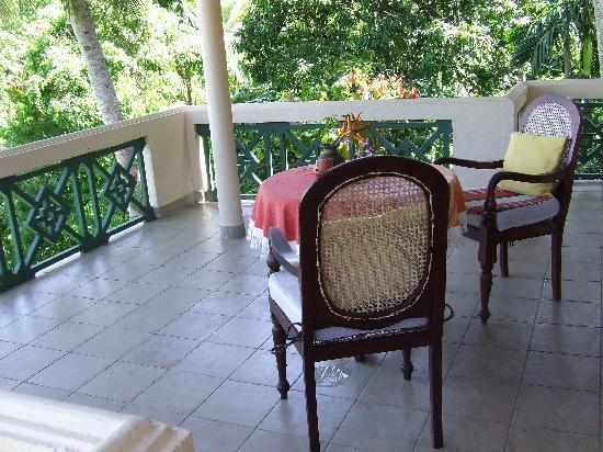 Shangri-Lanka Villa: Room 3 balcony