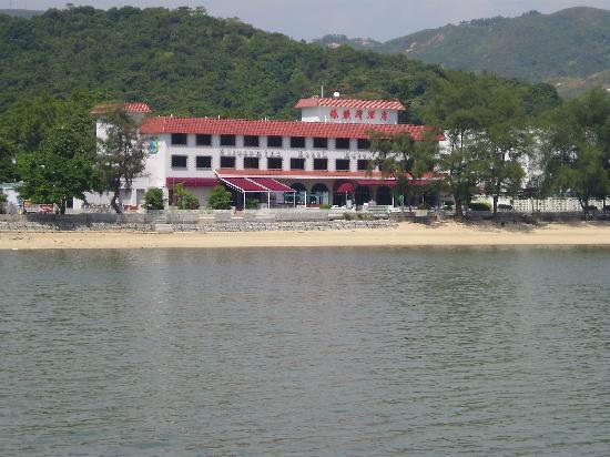 Silvermine Beach Resort Hotel Von Ferry Aus Gesehen