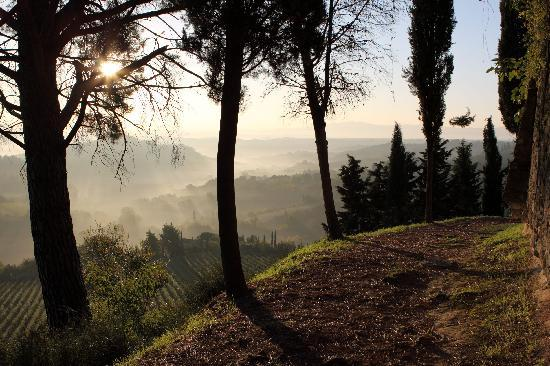 Fabio Apartments San Gimignano: San Gimignano Morning walk around the city walls