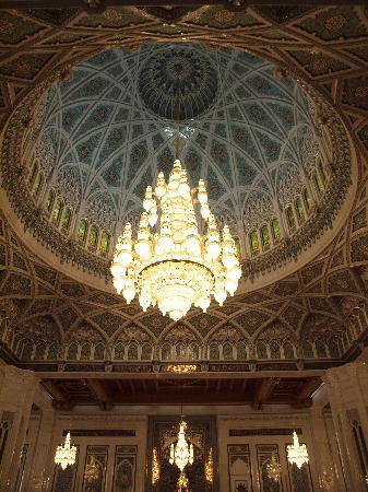 Gran mezquita del Sultán Qaboos: Main prayer room