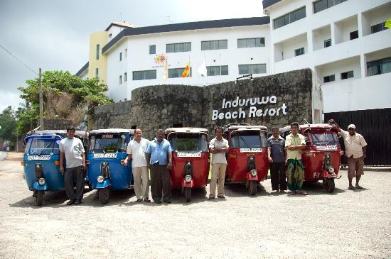 Induruwa Beach Resort: Induruwa Tuk Tuk Drivers