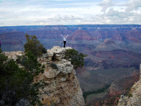Grand Adventures Tours: Living on the edge at 40!