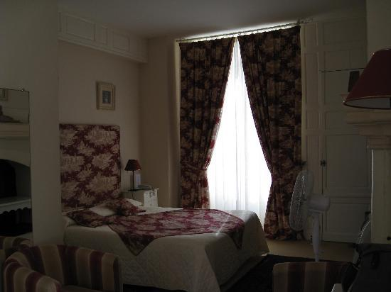 Hotel le Clos d'Amboise: First room to the right when walking into hotel
