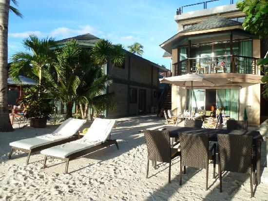 Boracay Beach Houses Ready For Breakfast