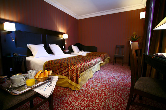 Hotel Convention Montparnasse: Chambre triple