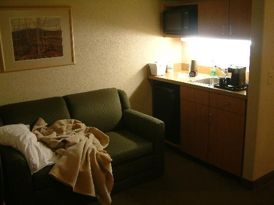 Days Inn - Calgary Airport: pull-out bed & kitchenette