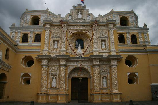 Antigua, Guatemala: La Merced church