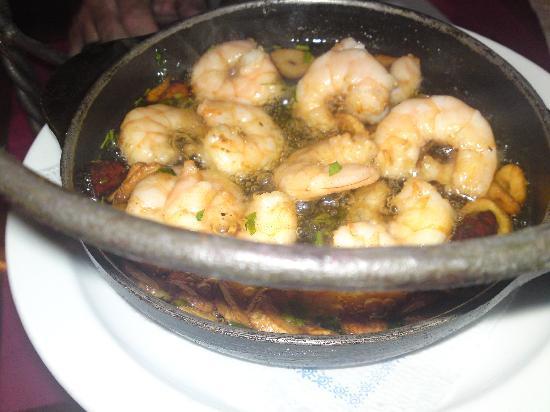 Tapas Capaco: Grilled Prawns - Yum