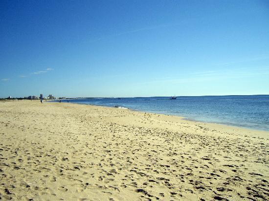 Praia Verde beach - out of season