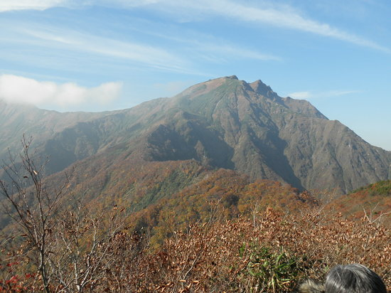 Yuzawa-machi, Japan: 天神峠から見た谷川岳