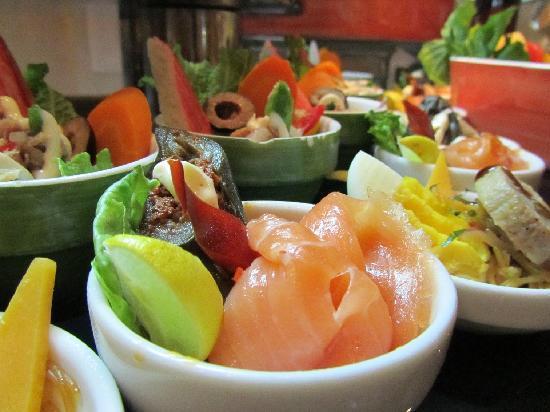 Sensimar Premier Le Reve: food