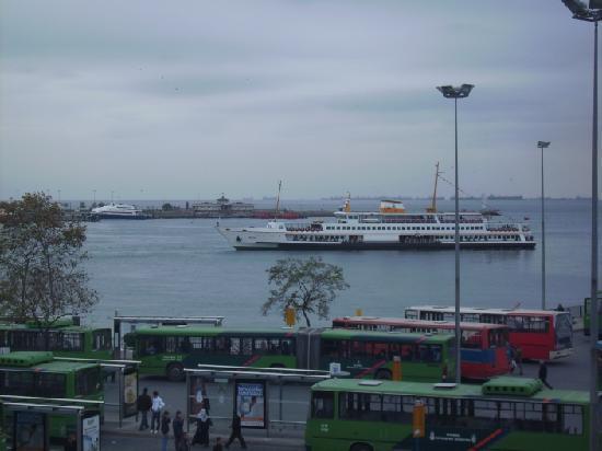 Rihtim Otel: Blick aus dem Hotelfenster