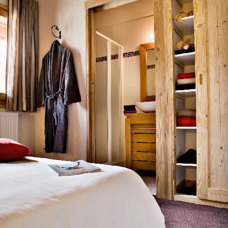 Residence L'Aiglon de Morzine: Residence Aiglon - typical bedroom