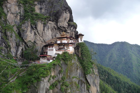 Paro, Bhoutan : The tigers nest