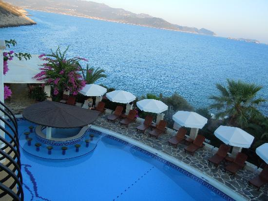 Hadrian Hotel: View from Terrace of our room