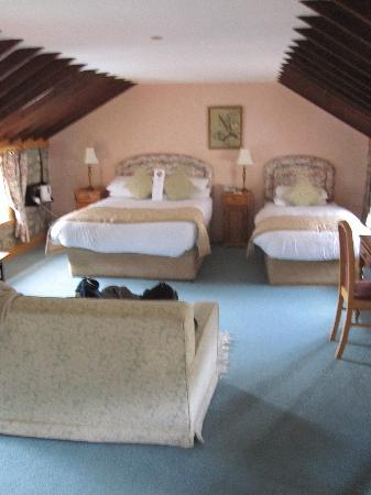 Kingscourt, Irland: Our spacious lovely room