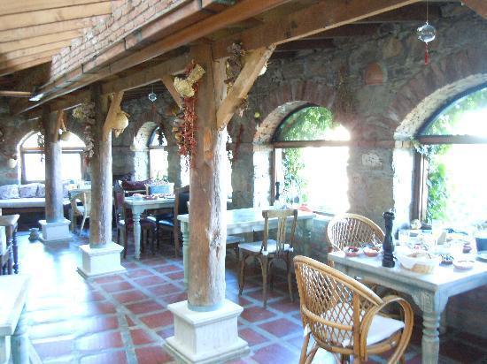 Şirince, Türkiye: Dining area