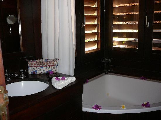 Anjajavy L'Hotel : Bathroom