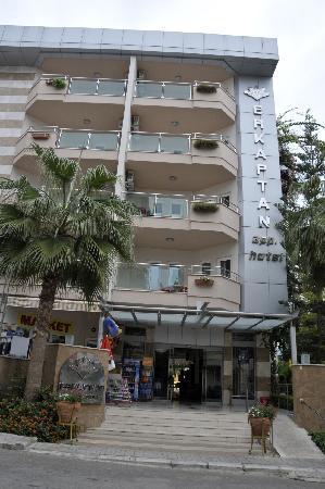 Erkaptan Apart Hotel: Erkaptan entrance