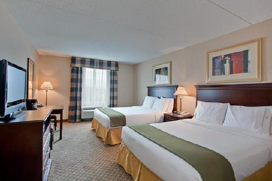Holiday Inn Express Hotel & Suites Huntsville: Holiday Inn Express and Suites Huntsville Ontario Canada Double Room