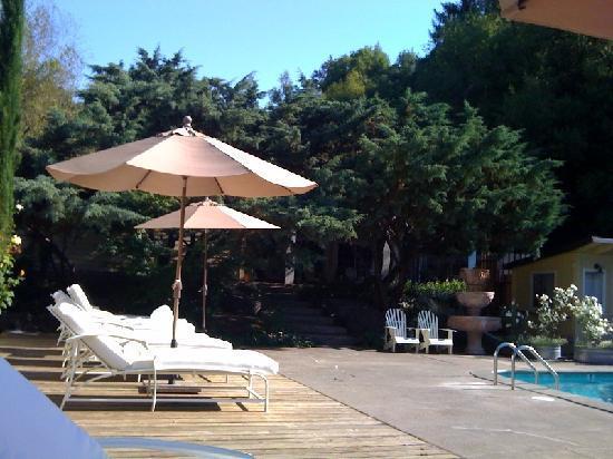 Farmhouse Inn: Pool Area