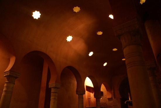 Hammam Al Andalus Granada: Sala Templada