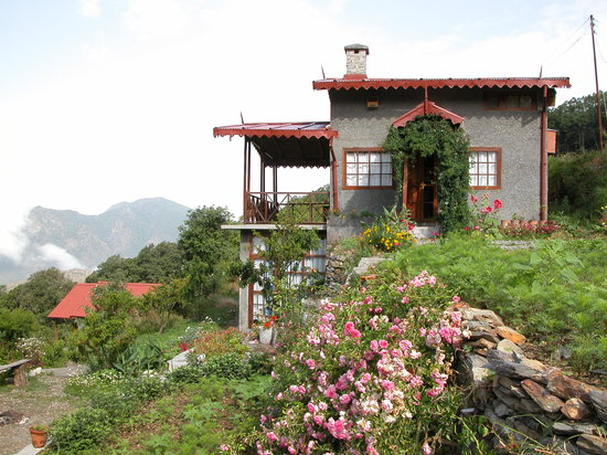 Pangot, India: A cottage at Jungle Lore Birding Lodge