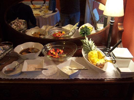 Devondell: Thème fruit du petit déjeuner