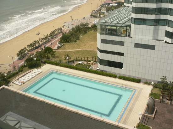Paradise Hotel Busan: the pool