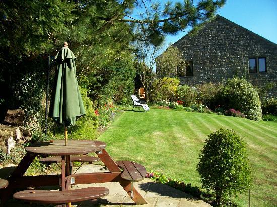 New Laithe House : House from the Garden.