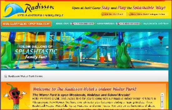 Radisson water park