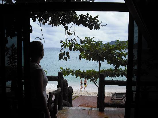 Phi Phi Paradise Pearl Resort: View from the sliding doors A1