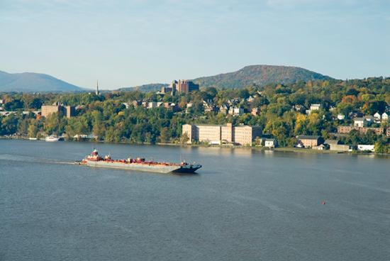 Newburgh NY seen from the bridge