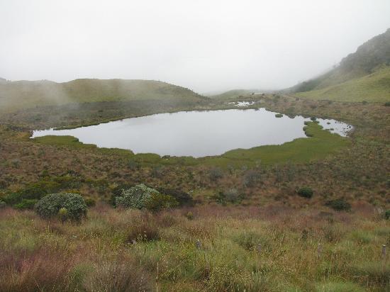 Nevado del Ruiz: Schwarze Lagune