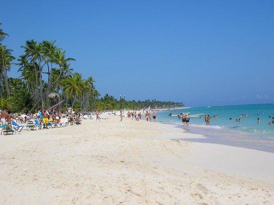 Hotel Riu Naiboa : playa