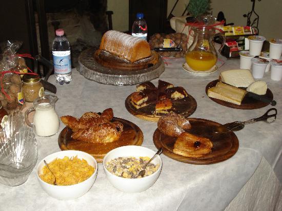 Tenuta Lonciano: l'ottima colazione