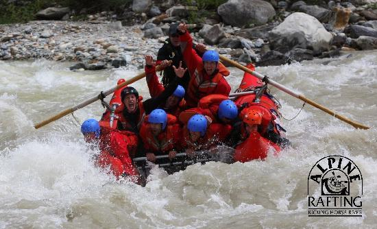 Alpine Rafting: Try Catrafting on the Kicking Horse River