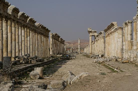 Apamea: Cardo maximus, la via colonnata