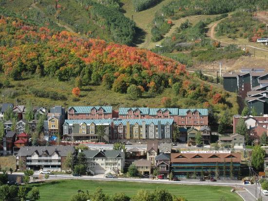 Chateau Apres Lodge: Fall in Park City