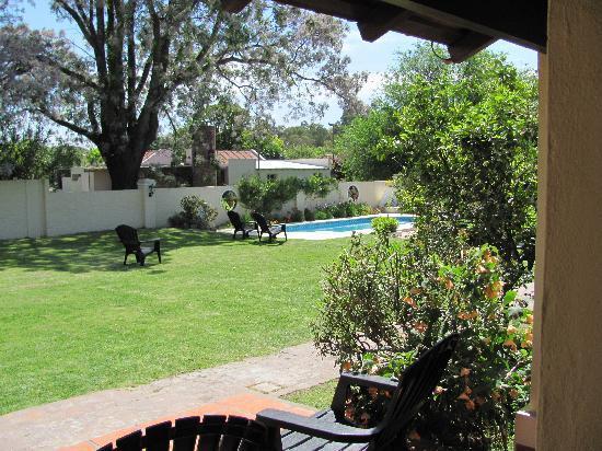 San Antonio de Areco, Argentina: Paradora Draghi inn view from doorway