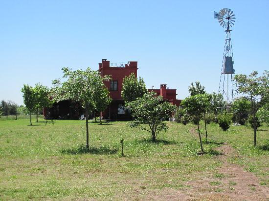 San Antonio de Areco, Argentinien: Estancia at polo field